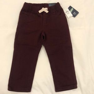 Toddler GAP maroon pants